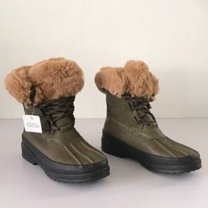 Sperry Maritime Leather Winter Boots